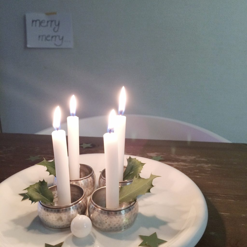 advent decoration easy and creative, cheap and quick