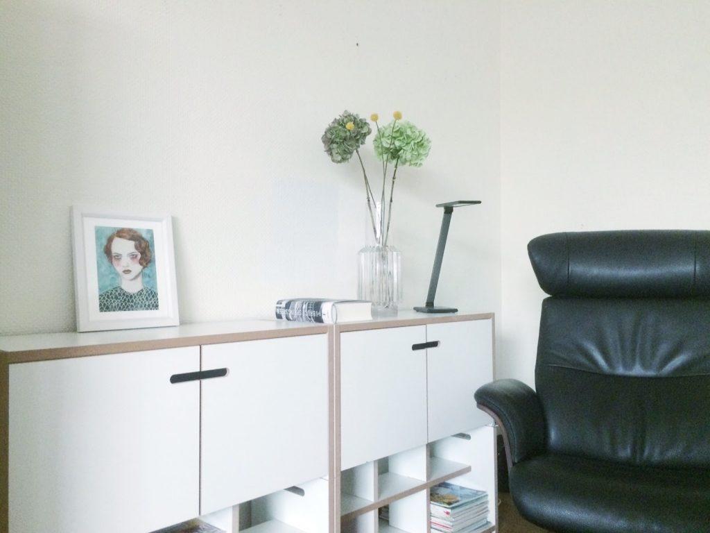 sasha print im Wohnzimmer living room decor