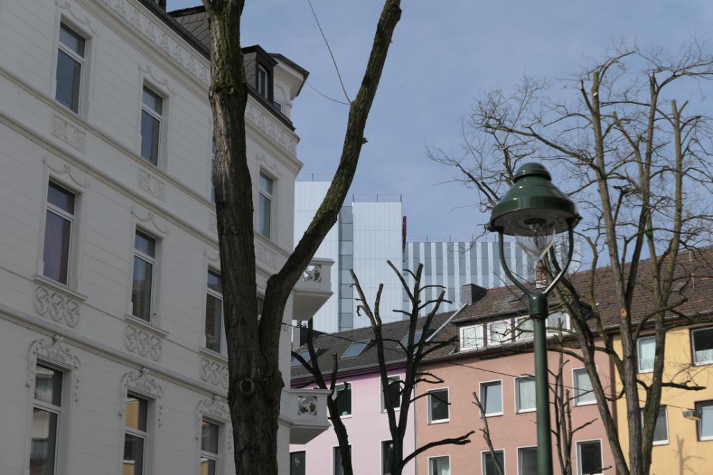 Düsseldorf unterbilk architecture
