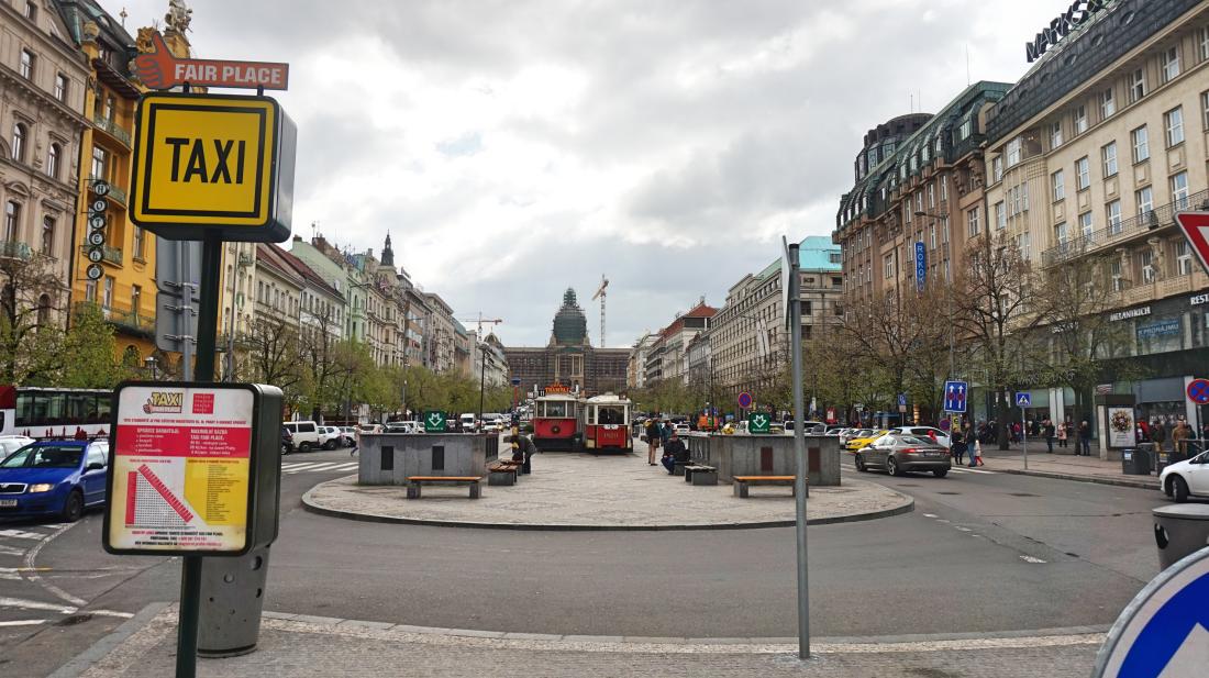 Prag Wenzelsplatz
