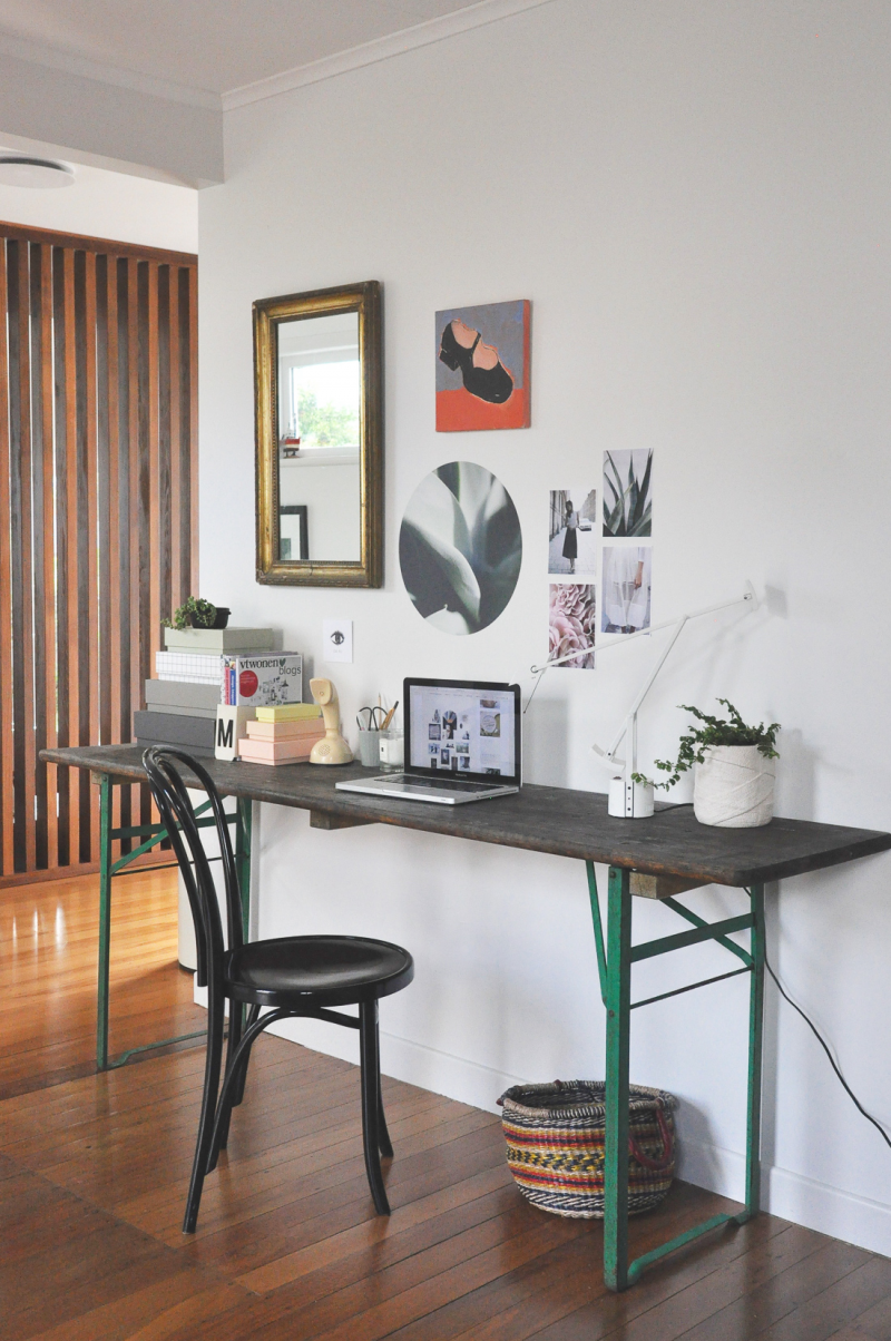 8 tips to make your home more personal, a beer table goes desk creative interior ideas
