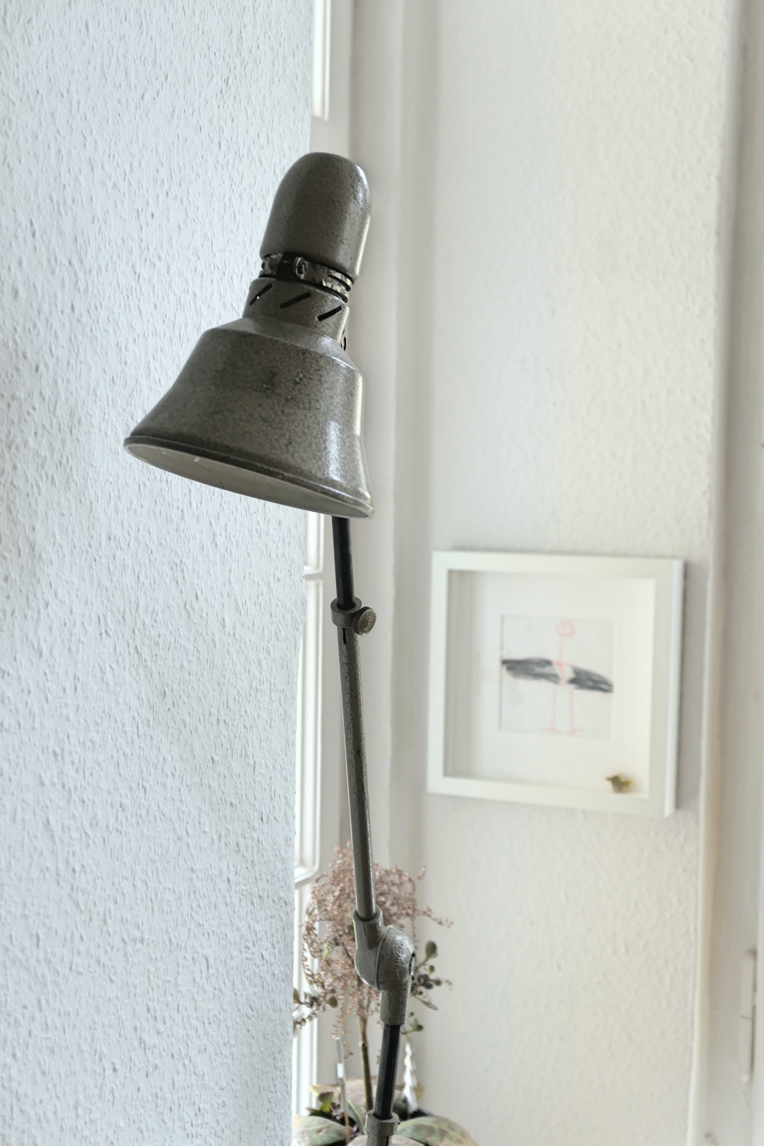 Vintagelampe im Erker vintage lamps