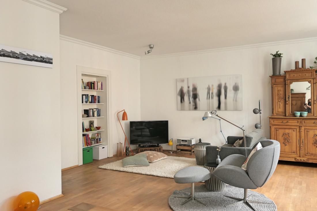 Altbauwohnung retro und design