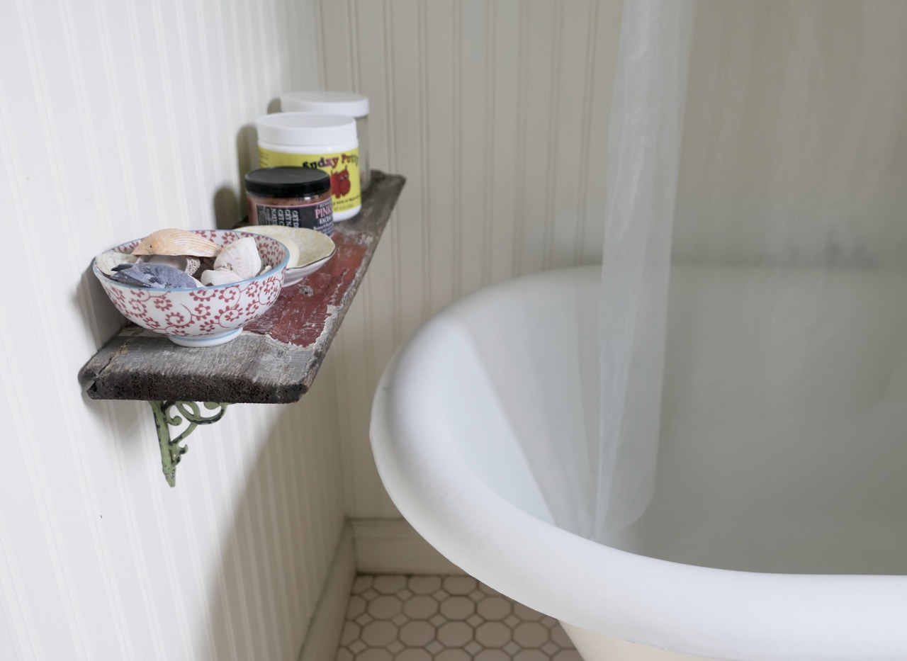 Badezimmer vintage style