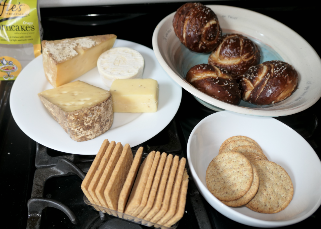 snacks with cheese