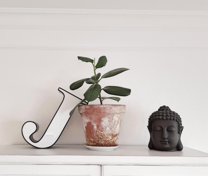 wohlfühlort home decorating, buddha im haus